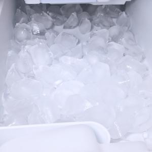 久しぶりの晴れ、冷蔵庫の製氷部品洗ってる?