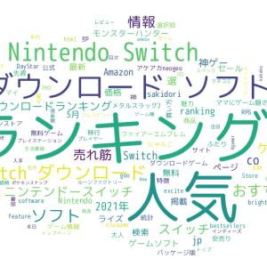 みんなの感想は?SNS解析から見るSwitchゲームダウンロードランキングベスト5(2021/05)