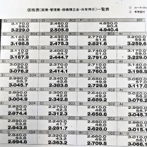 築30年以上の中古分譲マンションの「初期販売価格表」って結構レアなんですよね