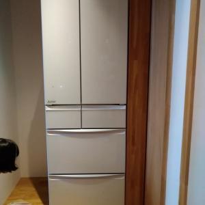 冷蔵庫搬入の下見はされていたけれど順調には搬入されずどうにか搬入、頂いた置き土産は?
