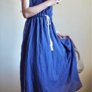【40代ファッション】ワードローブに夏らしいワンピースを追加(pr)スーパーセールポチレポ!タイムセール情報!