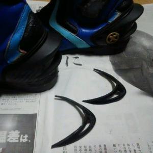 ブーツのリペア 其の七 ヒールカウンターの補修 再び
