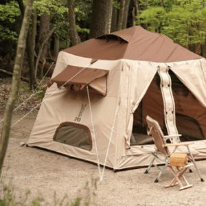 【とにかくかわいい!】DOD『おうちテント』のブログと口コミレビュー