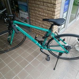 クロスバイク購入しました