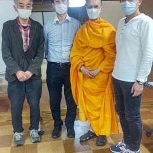 タイの僧侶による瞑想会に参加してきました