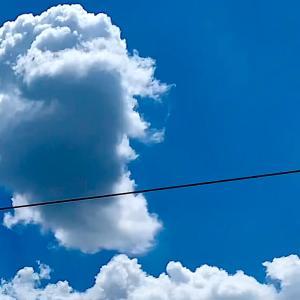 【残像日録】夏雲とノスタルジー
