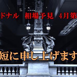 来週の相場見通し【2021年4月19日-4月23日】エドナル