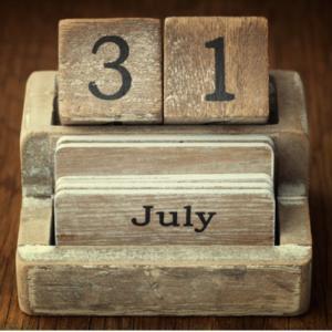 7月31日といえば・・・