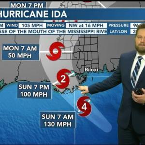 ハリケーンに備えて