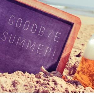 夏は終わったというのに