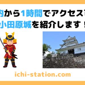 都内から1時間でアクセス可能!小田原城を紹介します!