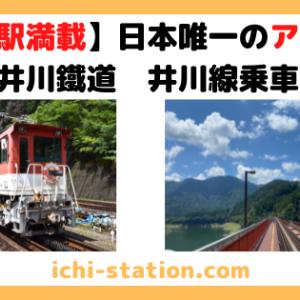 【秘境駅満載】日本唯一のアプト式で行く!大井川鐵道 井川線乗車記