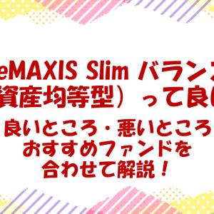 【解説】eMAXIS Slim バランス(8資産均等型)って良いの?