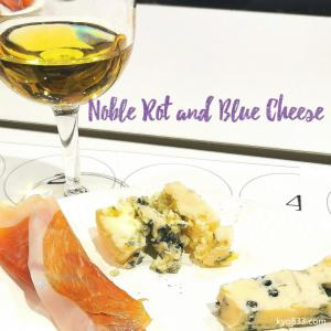 世界三大貴腐ワイン、世界三大酒精強化ワイン、世界三大ブルーチーズを一度にティステイングしました