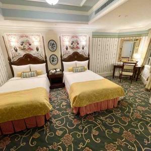コーナールーム(パークビュー)8107号室【ディズニーランドホテル】