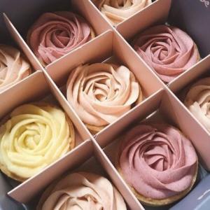 通販限定!「兜好。All Good」のバラの形のタルトは食べられるブーケ!