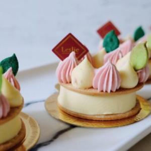 台北の「Leslie Pâtisserie & Café」はレモンタルトが人気
