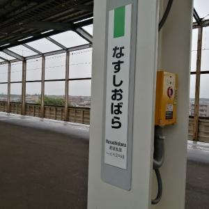 【レポ】那須塩原駅には何があるのか?子連れで確認してきました