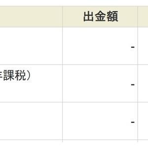 反社の企業 (2914)から、配当金30万円が入金されました。