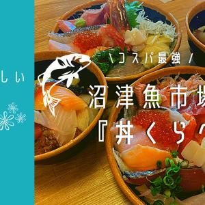 【美味しいお店】沼津海鮮丼コスパ最強「丼くらべ」おすすめ漁師めし