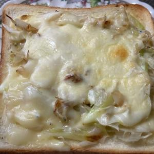 【おすすめカンタンレシピ】今日のお昼は白ネギじゃこチーズトースト