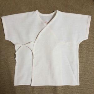 水天宮の腹帯で作る短肌着