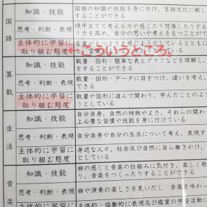 成績表の付け方【小学生編】