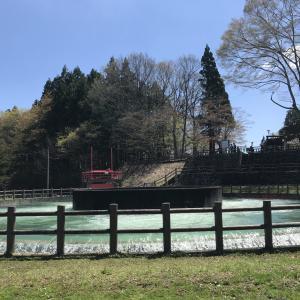 円筒分水ライド! 岩手県奥州市「徳水園」 -自転車の旅
