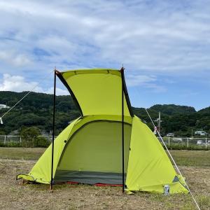 【連載企画】【キャンプ用品】機能を担保したままで軽量化ウィーク!(Day3・テント編)