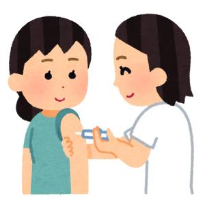 ワクチン接種しました!