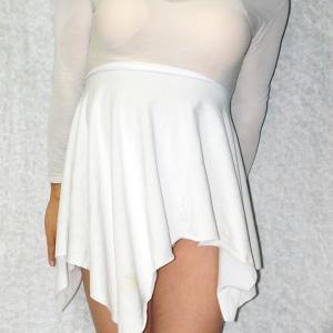超簡単!白スカート