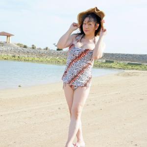 沖縄、志喜屋海浜にて撮影その1