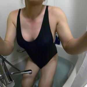 水着で水中撮影gif動画(GoProカメラテスト2)