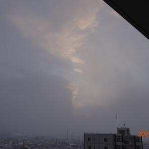 2月7日(日)今日の夕陽