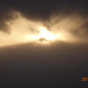 2月9日(火)今日の夕陽