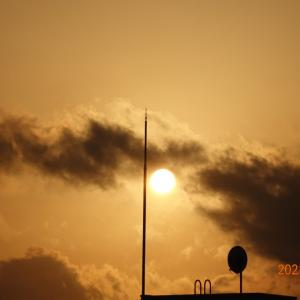 3月4日(木)今日の夕陽