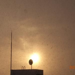 3月6日(土)今日の夕陽