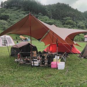 キャンプ解禁! 〜群馬県 創造の森キャンプ場〜