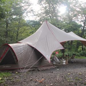 雨の日キャンプ ~群馬県 県営赤城公園キャンプ場~
