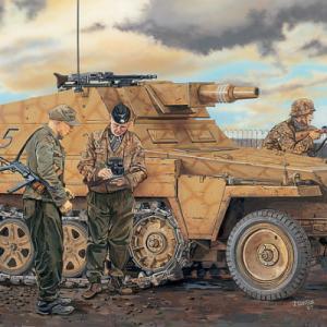 【ドイツ軍制式番号・戦車・自走砲・ハーフトラックなど】第二次世界大戦で活躍したドイツ軍車両の制式番号のご紹介