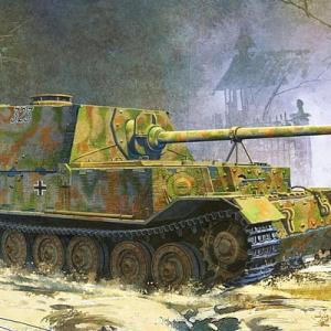 【ドイツ軍・戦車砲一覧】ドイツ軍・戦車砲別車両(戦車・自走砲・装甲車:36車両)一覧のご紹介