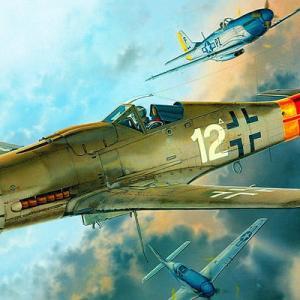 【プラモ・ドイツ軍航空機】第二次世界大戦で活躍したドイツ軍の航空機のご紹介
