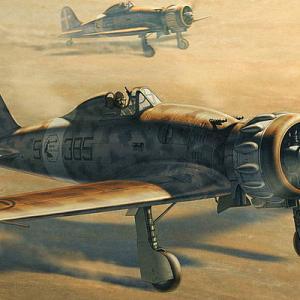 【プラモ・イタリア軍航空機】第二次世界大戦で活躍したイタリア軍の航空機のご紹介