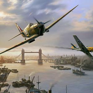 【プラモ・イギリス軍航空機】第二次世界大戦で活躍したイギリス軍の航空機のご紹介