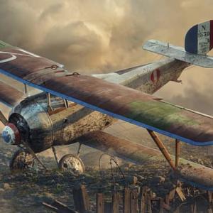 【フランス軍・航空機1914-45年】レシプロ時代(1914-45年)に活躍したフランス軍・航空機のご紹介