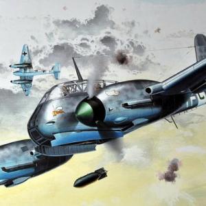 【プラモ・航空機】レシプロ時代(1914-45年)に活躍した航空機(戦闘・攻撃・爆撃機)のご紹介