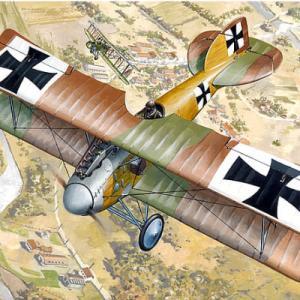 【プラモ:WW1・航空機】第一次世界大戦に活躍した航空機(戦闘・攻撃・爆撃機)のご紹介