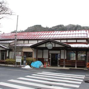 若桜駅と小鬼たち