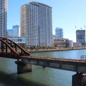 深川線の晴海橋梁