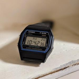 休日用腕時計に【チープカシオ】を買い直しました